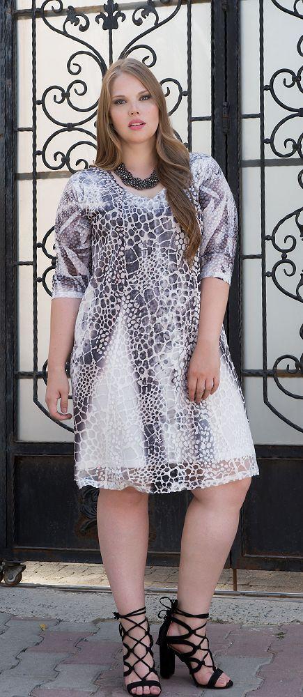 low priced 1b4ae c8657 Damen XXL Kleider in großen Größen und Übergrößen online ...