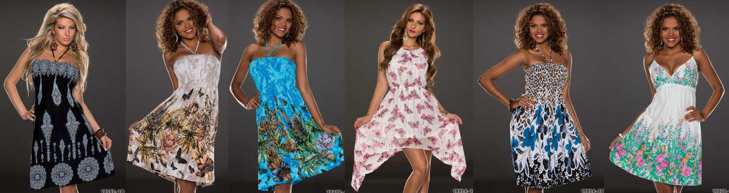 Knielange Kleider im Mode Online-Shop ohne Versandkosten bestellen